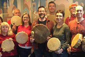 Sacred Drum Making Workshop, Saturday, September 9, 2017