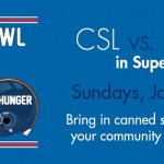 Soup-er Bowl Sundays, January 15 through February 5, 2017